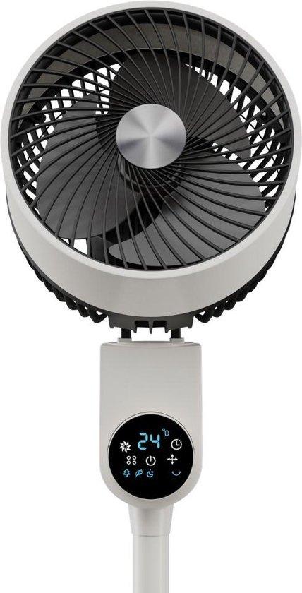 Dynter. AV211 - Ventilator staand - Circulation fan - Digitaal - Roterende statiefventilator - met afstandsbediening