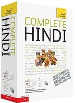 Teach Yourself Complete Hindi book + audio-cd's pack