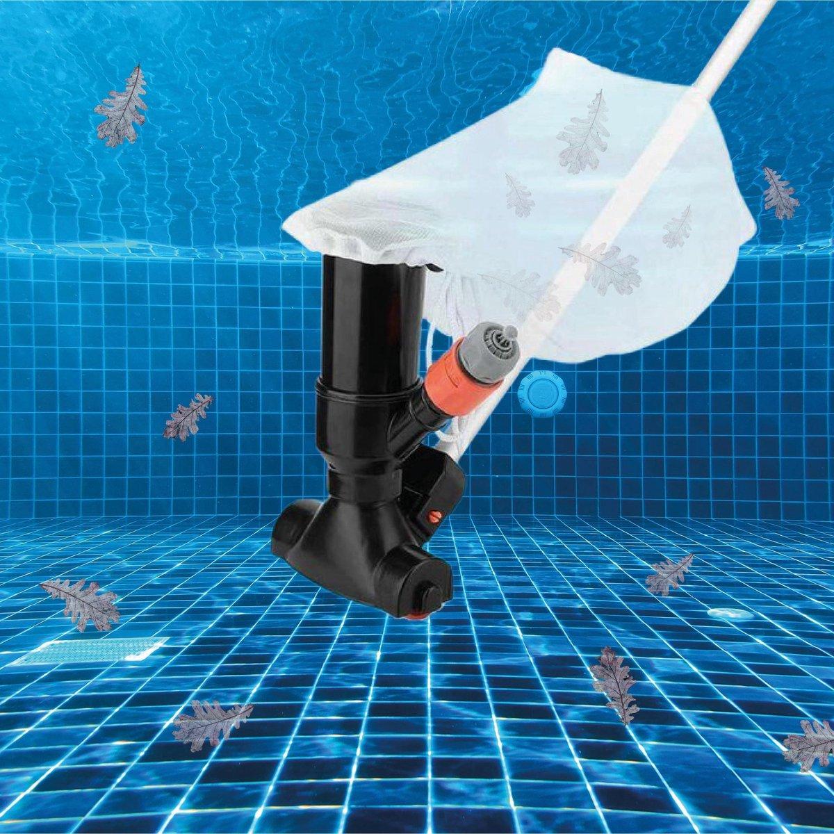 Zwembad Stofzuiger - Zwembad Onderhoud - Jacuzzi Onderhoud - Universeel - Filterpomp - Zwembadstofzuiger- Zwembad Pomp - Intex Filter - Inclusief Telescoopstang