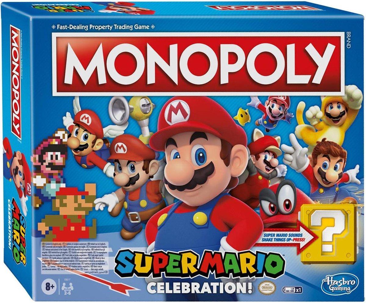 Monopoly Super Mario Celebration - Engelstalig Bordspel