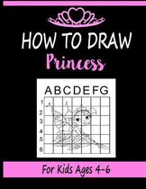 How to draw Princess for Kids Ages 4-6