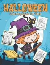 Halloween Coloring Book for Kids: Happy Halloween Coloring Book for kids