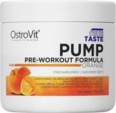 Pre-Workout - Pump Pre Workout 300g OstroVit - Kers + GRATIS Bulk Shaker 700ml