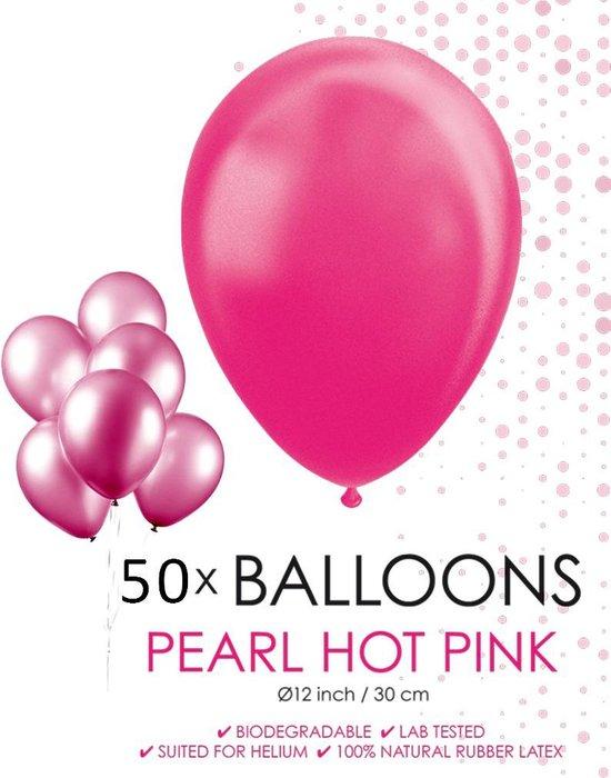 Globos Ballonnen 30,5 Cm Latex Acaciaroze Parelmoer 50 Stuks