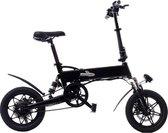Elektrische vouwfiets zwart 250w 36v | opvouwbare e-bike | vouwfiets elektrisch zwart