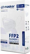 FFP2 mondkapje - CE-gecertificeerd - Per stuk verp
