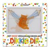 Boek cover Dikkie Dik  -   Het dikke verjaardagsboek van Dikkie Dik van Jet Boeke (Hardcover)