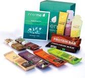 INNERME Healthy Sports Box - testpakket bio & vegan sportvoeding - gels, sportdrank & repen