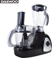 Daewoo - Keukenmachine - Keukenrobot mixer - Keuken Robot Blender 1,5 Liter en Kom 0.8 Liter - 4 Snelheden - Elektrische energie 500w – Zwart - SYM1427