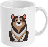 MUGZ - Cute Dogs - Mok - Theemok - Koffiemok - Theebeker - Koffiebeker - Cute Dogs Collie