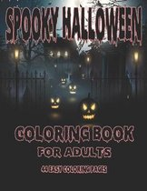 Spooky Halloween Coloring Book for Adults