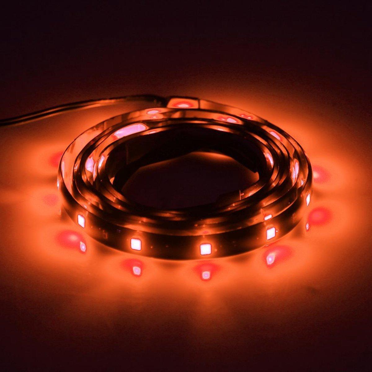 10 STKS 30 cm 15 LED Waterdichte Flexibele Auto Strip Licht, DC 12 V (Oranje Licht)