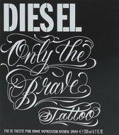 Diesel Only The Brave Tattoo 200 ml - Eau De Toilette - Herenparfum
