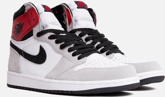 Nike Air Jordan 1 High Retro OG White/Black-lt smoke grey 37.5 575441 126