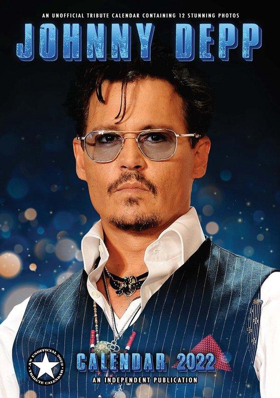 Johnny Depp Kalender 2022 A3