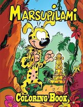 Marsupilami Coloring Book