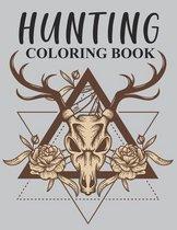 Hunting Coloring Book