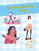 Fashion Coloring Book For girls age 2 year up