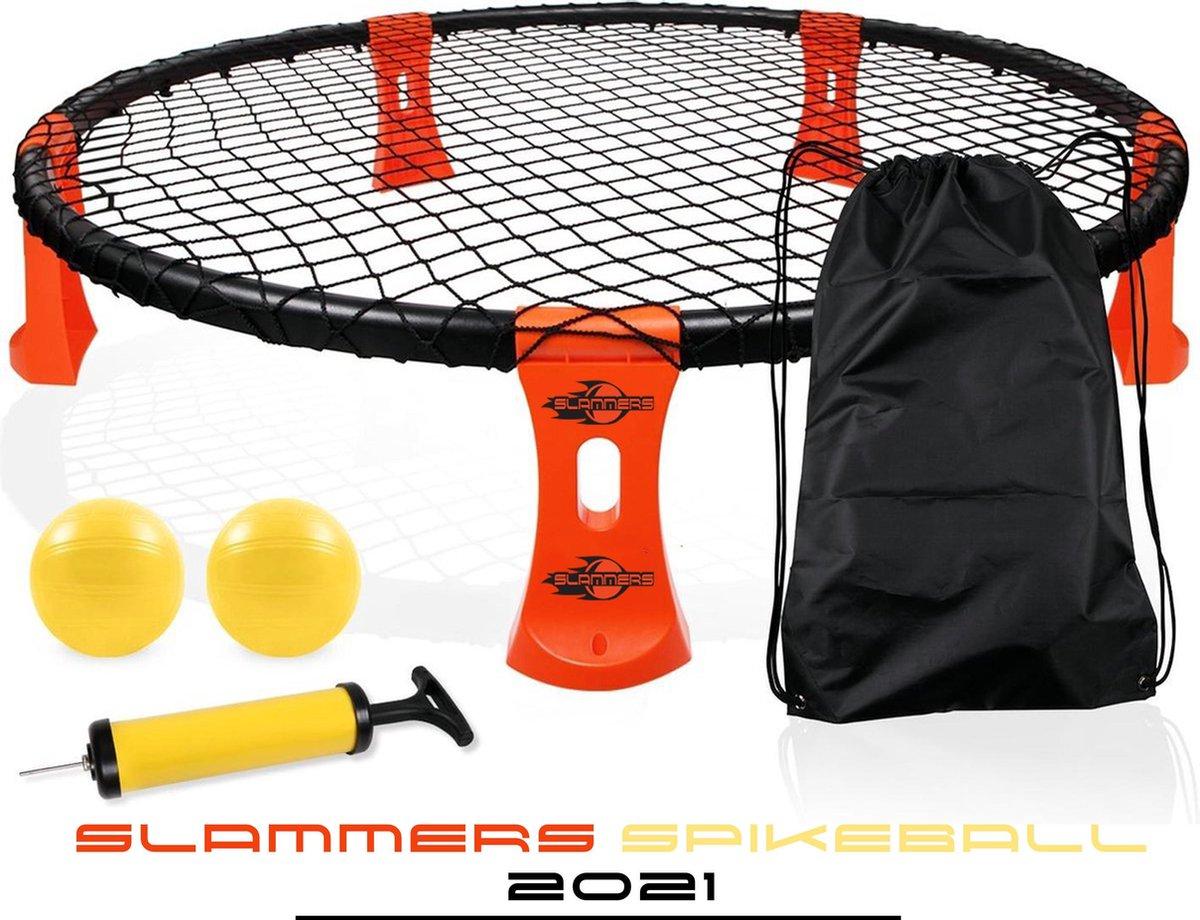 NEW - Slammers - Officiële Spikeball set 2021 - Roundnet - Buitenspel - Oranje