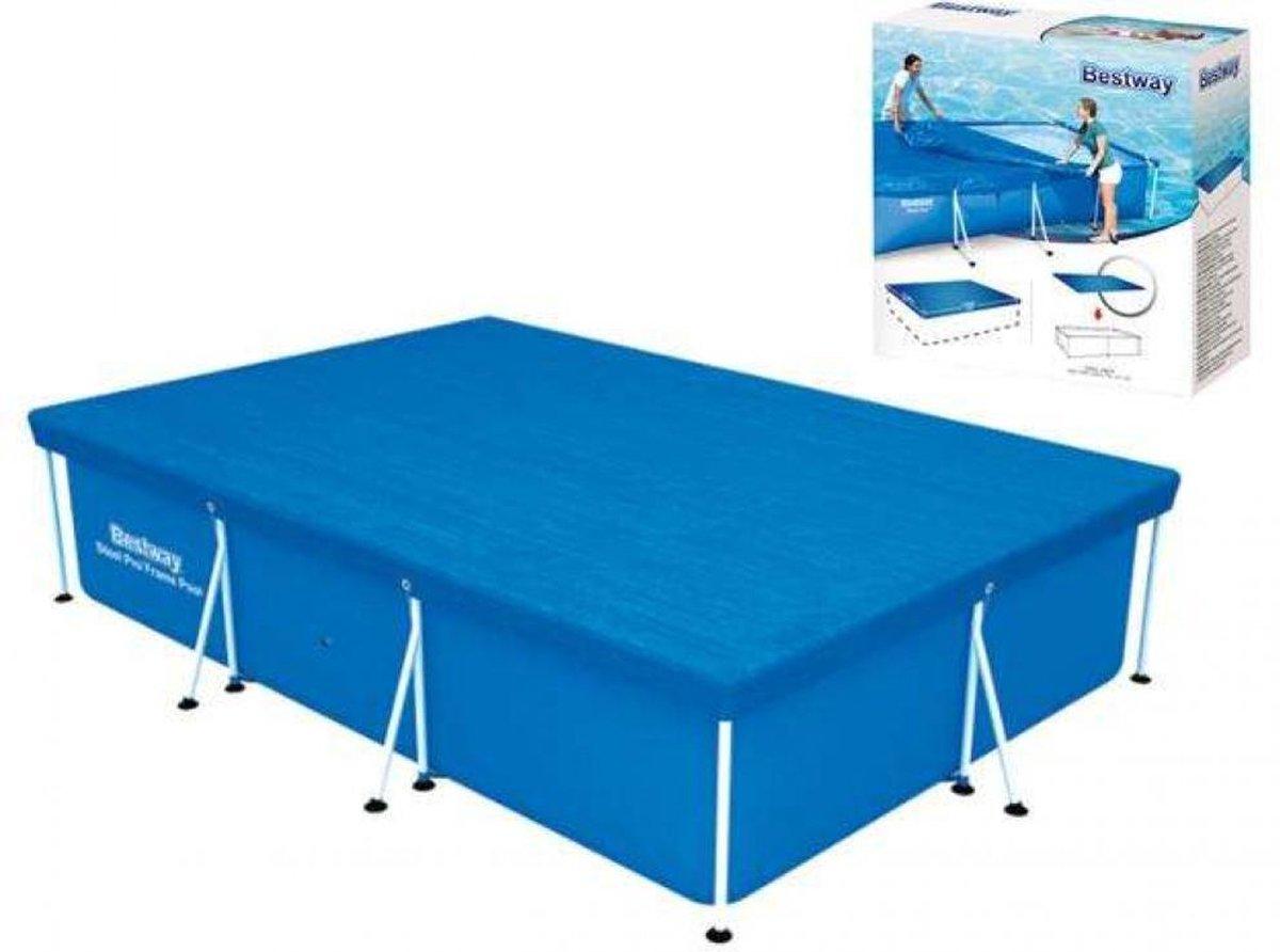 Afdekzeil voor zwembad - Zwembad - Afdekzeil - Zeil - BESTWAY - Bestway dekzeil voor opzetzwembad 300 x 201 - NEW MODEL - LIMITED EDITION