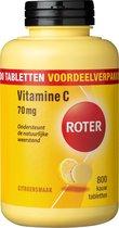 Roter Vitamine C 70 mg Citroen - Voedingssupplement - 800 kauwtabletten