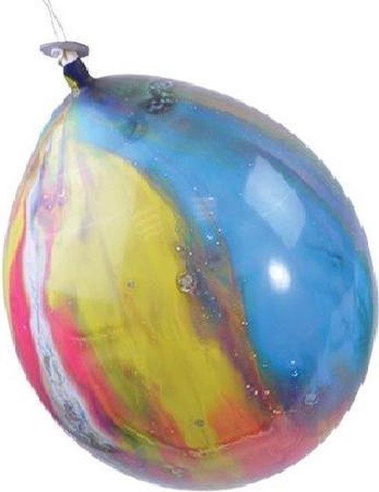 Ballonnen marmer rainbow - Ø30cm 8 stuks.