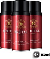 La Rive Deo Brutal Classic - Voordeelverpakking 6 Stuks