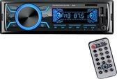 Bol.com-TechU™ Autoradio T04 Zwart met Afstandsbediening – 1 Din – Bluetooth – AUX – USB – SD – FM radio – RCA – Handsfree bellen-aanbieding