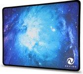 Nexibo® Ergonomische Muismat - Gaming - Antislip - Waterafstotend - Duurzaam Gestikte Randen - Galaxy - 27 x 22 cm