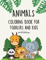 Animals Coloring Book For Toddlers And Kids