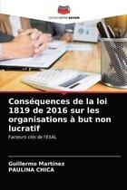 Consequences de la loi 1819 de 2016 sur les organisations a but non lucratif