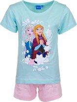 Frozen pyjama - korte broek en t-shirt - Anna en Elsa shortama - maat 116