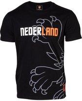 Nederlands Elftal KNVB T-shirt Zwart - Maat M