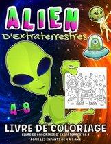 Aliens - Livre de coloriage