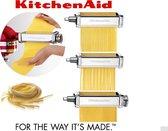 KitchenAid 3 Piece Pasta Roller - Keukenmachine-accessoire