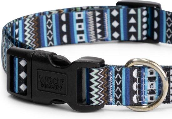 Woof Company - Hondenhalsband met kliksluiting - Tommy - Kleine Hond - Halsband met kleur