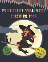 Very Scary Halloween Coloring Book