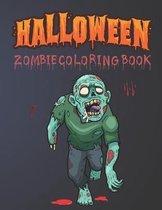 Halloween Zombie Coloring Book