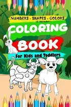 Coloring book for kids and toddler
