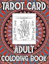 Tarot Card Adult Coloring Book