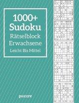 1000+ Sudoku Ratselblock Erwachsene Leicht Bis Mittel