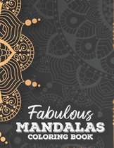 Fabulous Mandalas Coloring Book