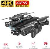 LUXWALLET TT Pro - GPS Drone – 30km/h - 210 Gram - Afstandsbediening – 5Ghz – 4K Camera - Foto - Applicatie + Afstandsbediening