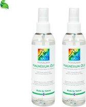 Magnesiumolie van Himalaya Magnesium   Magnesiumspray Set 2x 200 ml   Food kwaliteit   Magnesium olie voor Spieren