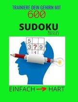 Trainiere Dein Gehirn mit 600 SUDOKU Puzzles - Einfach Hart