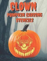 Clown Pumpkin Carving Stencils