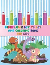 Dinosaur dot to dot and Coloring Book For Kids