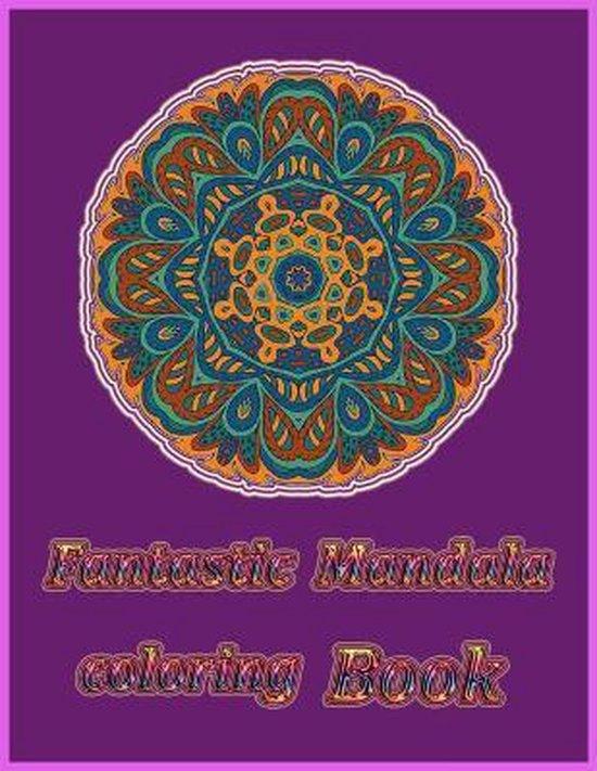 Fantastic Mandala Coloring Book