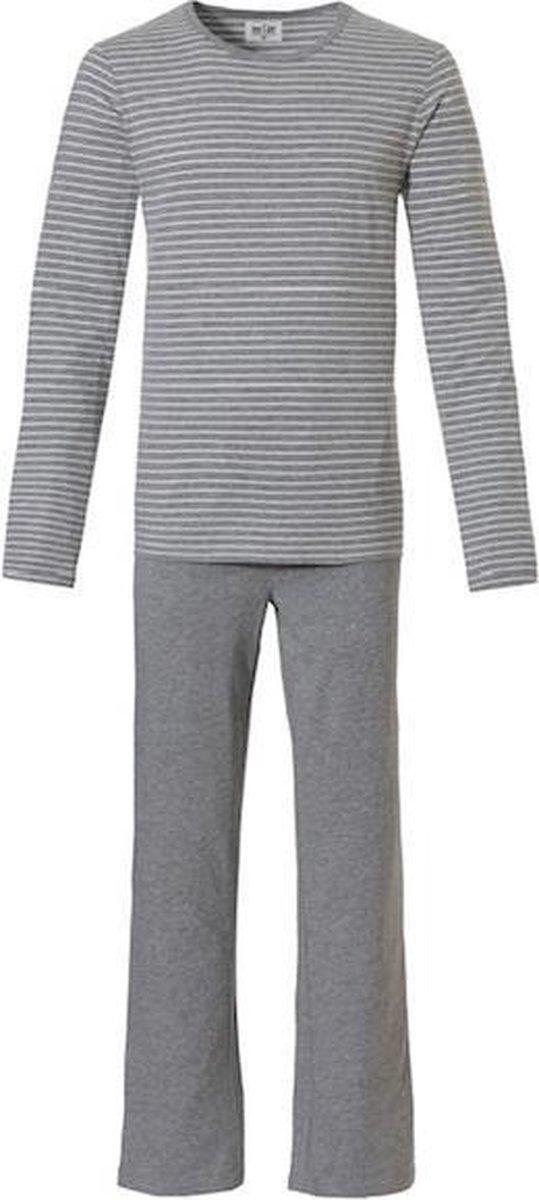 Ten Cate Heren Pyjama 32061 grey melee-M
