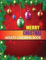 Merry Christmas Adults Coloring Book
